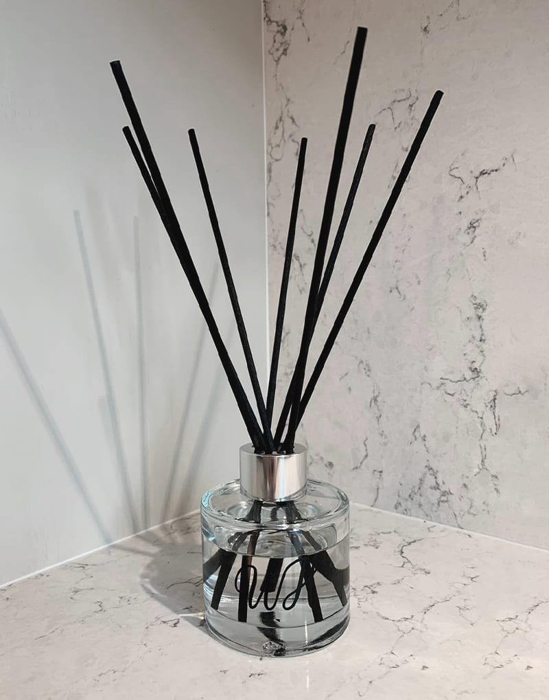 Peony and Blush Suede Reed Diffuser